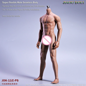 Image 3 - Super Flexible Male Seamless Body Figure 1/6 Scale With Stainless Steel Ball Joints Strong Musle Figure Model Collection Toy