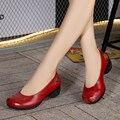 Chinês Sapatos de Couro Genuíno Das Mulheres Sapatos Sys-1111