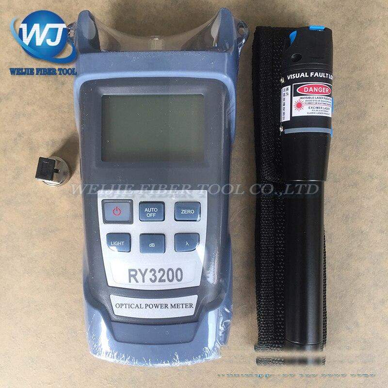 2 In 1 Faser Ftth Werkzeug 5 KM Visual Fault Locator und RY3200B Optischen Leistungsmesser-50 ~ + 26dBm SC/FC RY3200B OPM