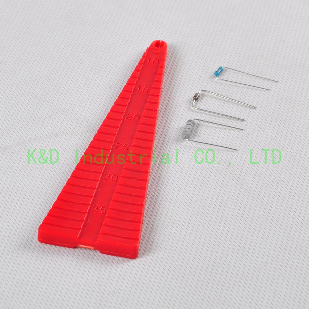 1pc 136mm Lead Benders Carbon Compos Resistor Diode Axial Capacitor Forming Tooling 0805 0603 0402 1206 smd capacitor resistor assortment combo kit sample book lcr clip tweezer