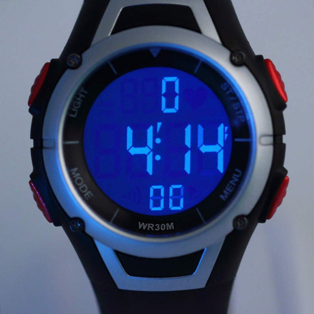 1 шт., новинка, монитор сердечного ритма, спортивные фитнес-часы, для спорта на открытом воздухе, для велоспорта, водонепроницаемые, беспроводные, с нагрудным ремешком