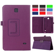 For samsung galaxy tab 4 8 0 SM-t331 PU Leather Case Cover For Samsung Galaxy Tab 4 8 0 inch T330 T331 T335 tablet Accessories cheap Peaktop Protective Shell Skin Solid Fashion Drop resistance Anti-Dust 17 5cm For Samsung Tab 4 8 inch T330 331 12 5cm For Samsung Tab 4 8 0 T330 331