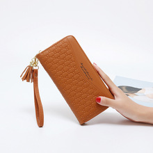 New Fashion Women Wallets Long Design Orginazer Purses Large Capacity PU Leather Wallet Photo Holder Card Coin Pocket