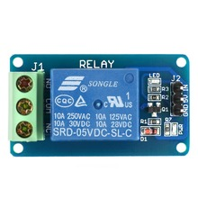 Relay board 5V 1-Channel Single Relay Module High Level Trigger for Arduino / RPi