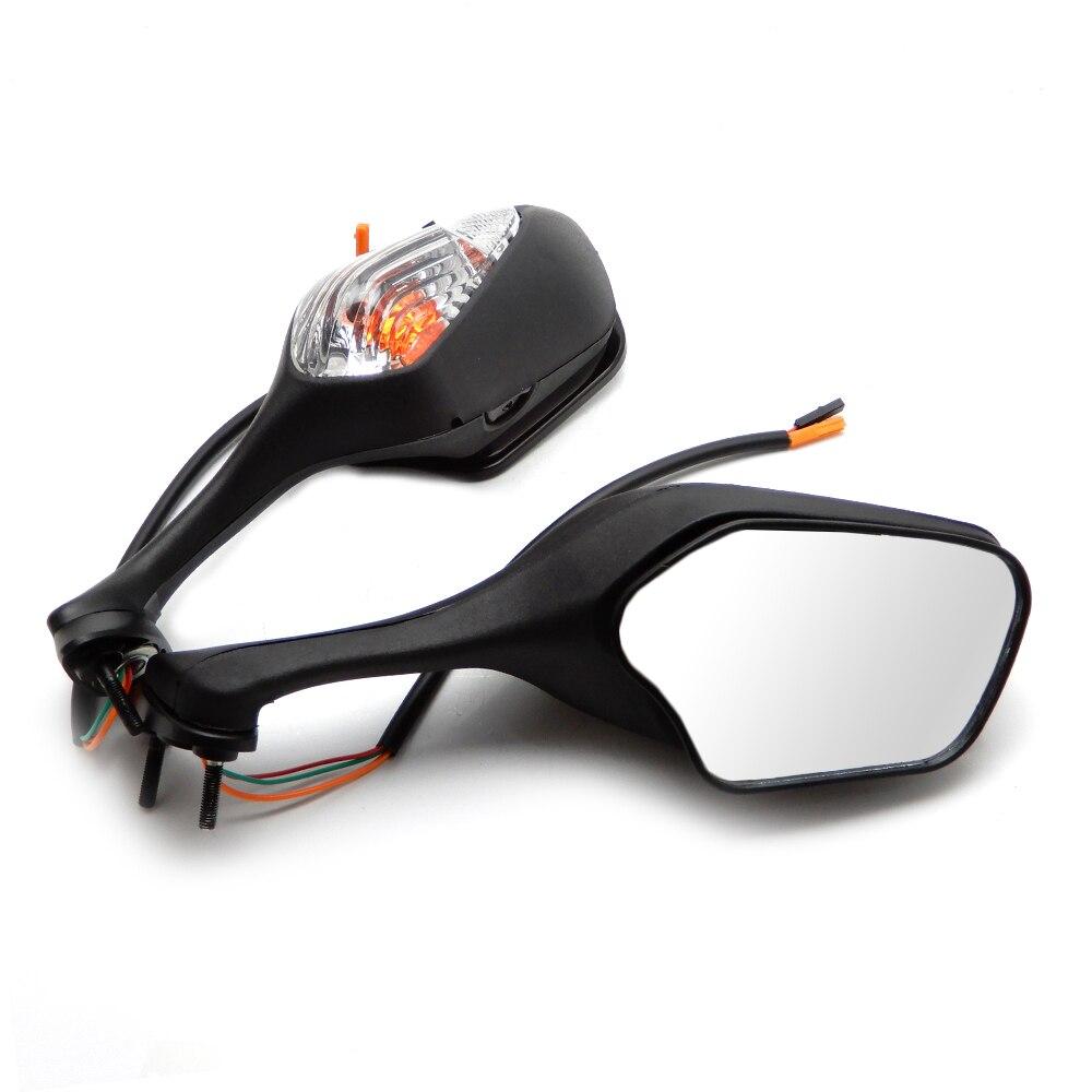 Pour Honda rétroviseur latéral moto avec clignotant pour Honda CBR1000RR CBR 1000 RR 2008 2009 2010 2011 2012 CBR miroir