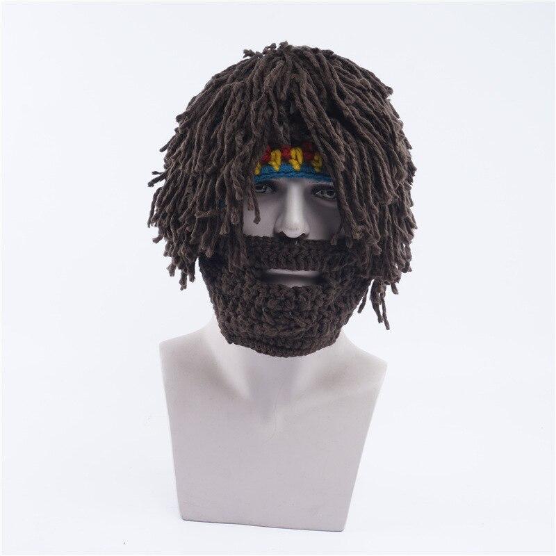 Divertido sombreros de invierno Barbarian Vagabond Viking barba ...