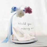 Eshemg/Новинка; Свадебная обувь для невесты; белые женские туфли лодочки с цветами; женские вечерние туфли для торжественных мероприятий