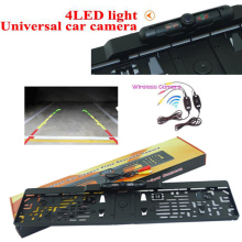 Lower price high qulity Wireless EU European Car License Plate Frame Parking Reversing font b Camera