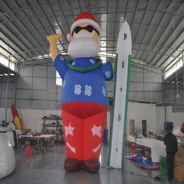 inflatable Father Christmas new type