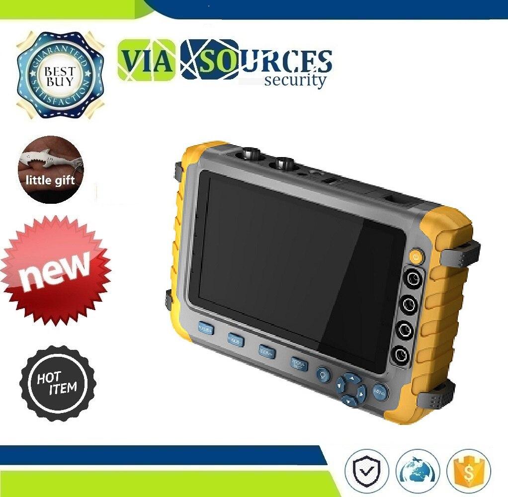 Test Audio d'entrée VGA HDMI 5 pouces TFT LCD 1080 P 5MP 4 en 1 TVI AHD CVI testeur de vidéosurveillance analogique moniteur testeur de caméra de sécurité