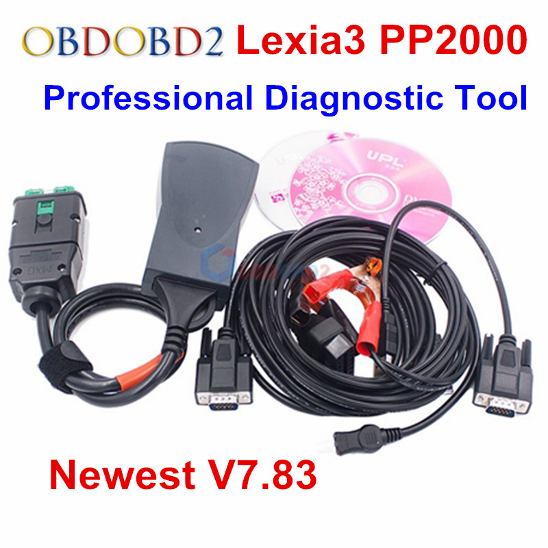 Diagbox V7.83 Lexia3 PP2000 прошивки 921815C Lexia 3 V48 PP2000 V25 Lexia-3 PSA XS Evolution OBD2 инструмент диагностики