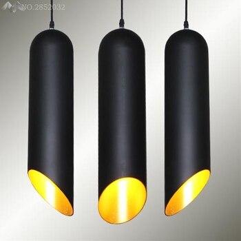 Nowoczesne proste cylindra powiesić lampy wisiorek światła led światła dla domu nordic wisiorek oprawy oświetleniowe lampy wiszące stylu loft