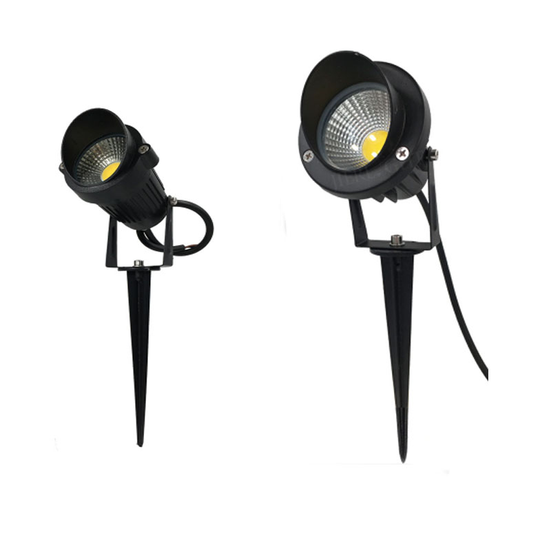 4 Pcs 12V/220v Outdoor Garden Light 5W/10W Waterproof LED Flood Spot Light Lawn Lamp Garden Wall Yard Path Light Landscape light ...