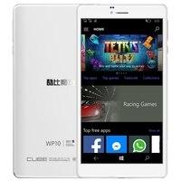 Original Cube WP10 6.98 inch tablets Windows 10 Mobile OS 4G Phone Call Tablet 2GB 16GB Qualcomm MSM8909 Quad core 2 SIM OTG GPS