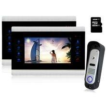 Homefong  10″ Video Intercom Door Phone Intercom System Night Vision Inter-conversation Doorbell 1V2 Doorbell System