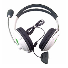 Big Headset Wired Gamer Headphone Classic Stereo Games Headset Earphone 2.5mm AUX Game Headphone with Microphone for XBOX 360