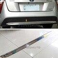 Для Toyota Prius XW50 2016 нижний задний бампер накладка хромированный ABS пластик