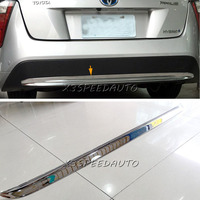 For Toyota Prius XW50 2016 Bottom Tailgate rear Bumper Cover Trim Chromed ABS Plastic