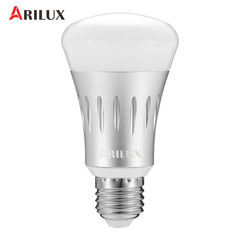 ARILUX E27 7W LED Bulb 22 Leds Lamp RGB + White Dimmable WIFI Smart Light Blub Works AC85-265V Indoor Lighting Atmosphere cpu cooling fan for asus n53 n53j n53jf n53jn n53s n53sv n53sm n73j n73jn ksb06105hb ab20 am14 laptop fan cooler