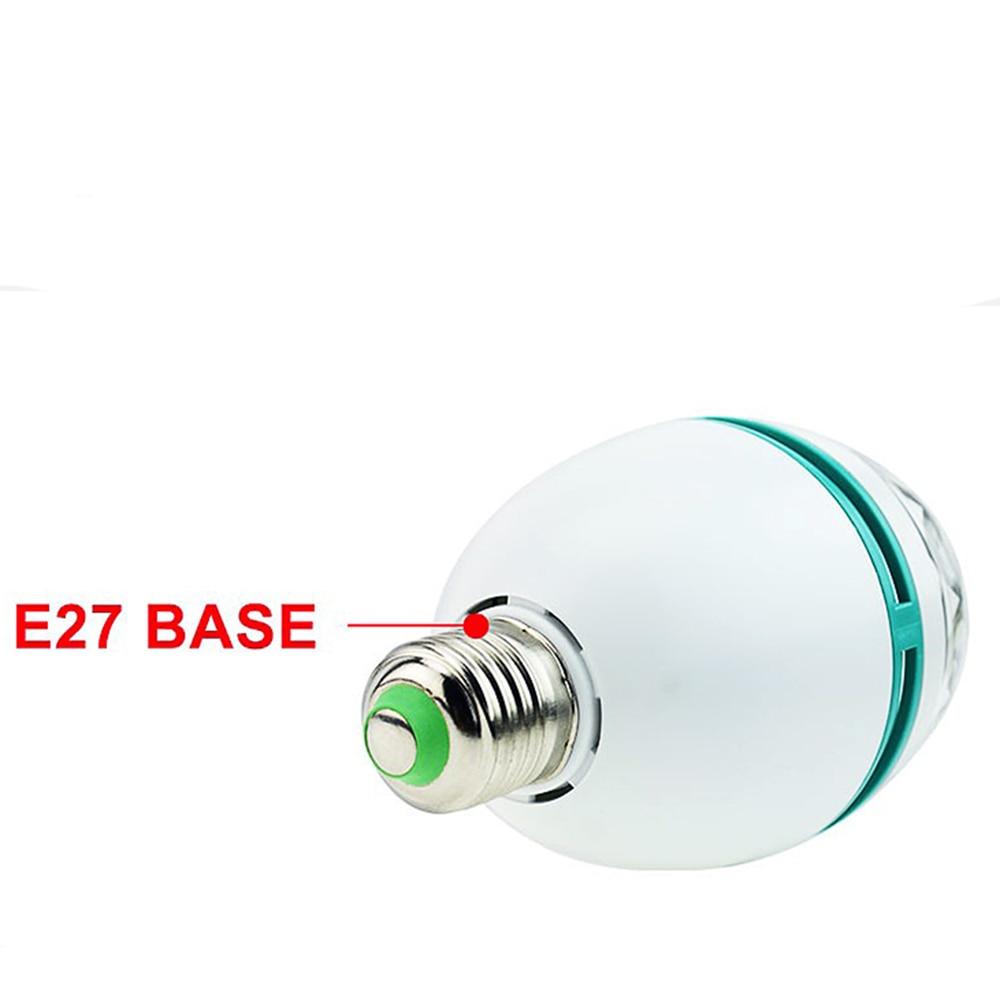 AC85-265V LED E27 Fırlanan RGB mərhələli işıq 3W / 6W rəngli - Ticarət işıqlandırması - Fotoqrafiya 3