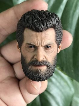Pre-sale Custom 1/6 Scale Wolverine Head Sculpt Anger Version Roar Head Carving model toys for 12in Phicen TBleague JIAOUL doll