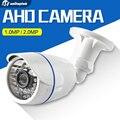 Câmera de CCTV CMOS de 2MP 1MP AHD 2000TVL IR Cut Filter câmera 720 P 1080 P Ao Ar Livre Câmera de Segurança de Bala À Prova D' Água Para AHD DVR