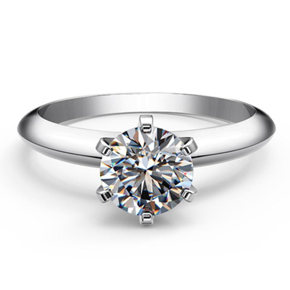bague diamant 1carat
