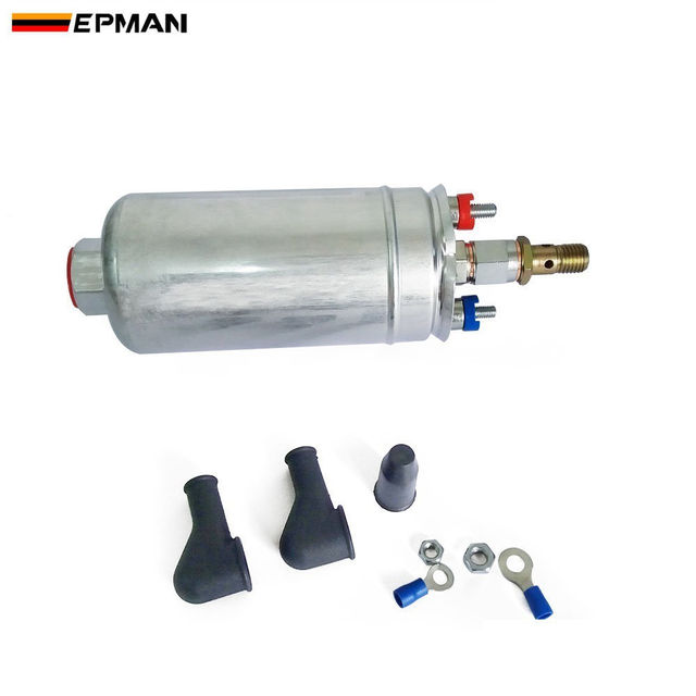 5ca00cbc58122 EPMAN Sport TOP QUALITY External Fuel Pump For 044 OEM:0580 254 Poulor  300lph For Ford Mustang 86-93 TK-RYB044
