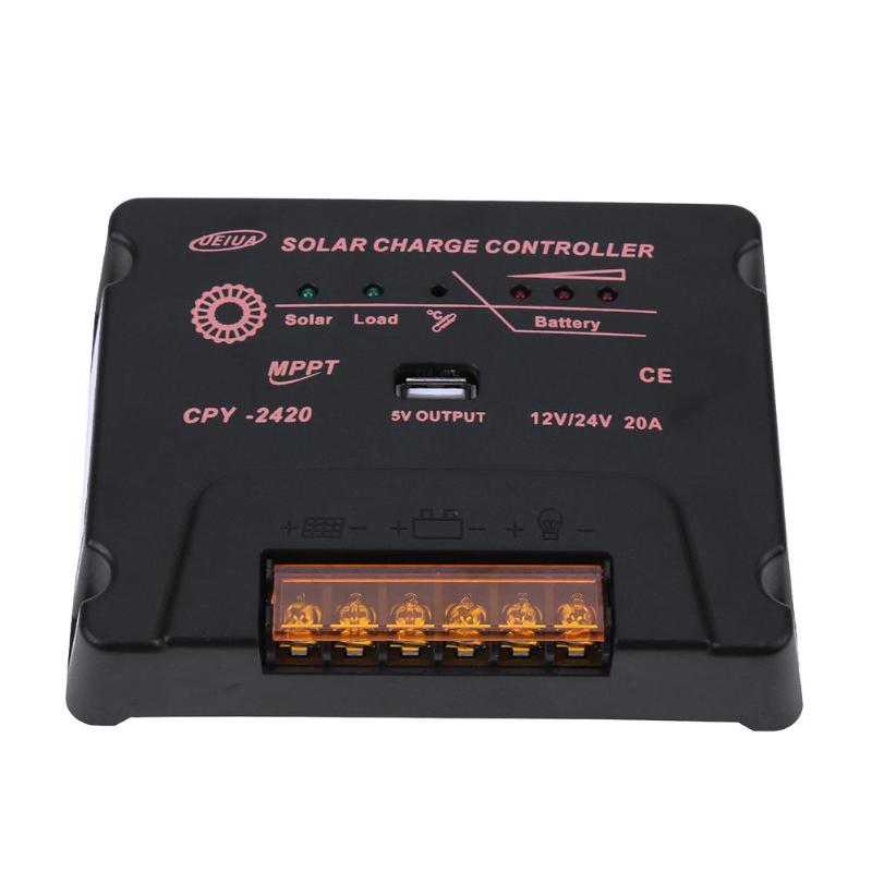 20A 12/24V Solar Charge Controller for Solar Panel Charger Charge/Discharge20A 12/24V Solar Charge Controller for Solar Panel Charger Charge/Discharge