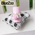 BlueZoo 10 pcs Liga de Prata Branco Pérola de Falso Strass Decoração de Unhas Cor de Rosa Amarela Flor Branca Pérola Prego Ferramenta de Beleza Do Prego arte