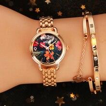 Fashion Women Wrist Watch Luxury Rose Gold Women's