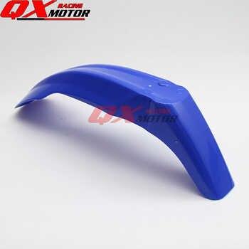 Motorbike Universal Blue Plastic Front Fenders Mudguard Fender for YZ WR XR CRF KLX KX RM RMZ DR DRZ 125 250 450