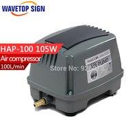 HaiLi Large Fish Pond Flow Diaphragm Pump HAP 100 80w 220v Aerator Pump Fish Aerator