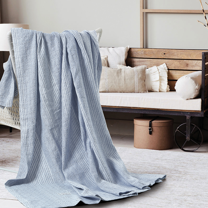 Warm Soft flax Blankets Double Layer Thick Plush Throw on Sofa Bed Plane Pure color Solid Bedspreads Home Textile RUIYEE brand
