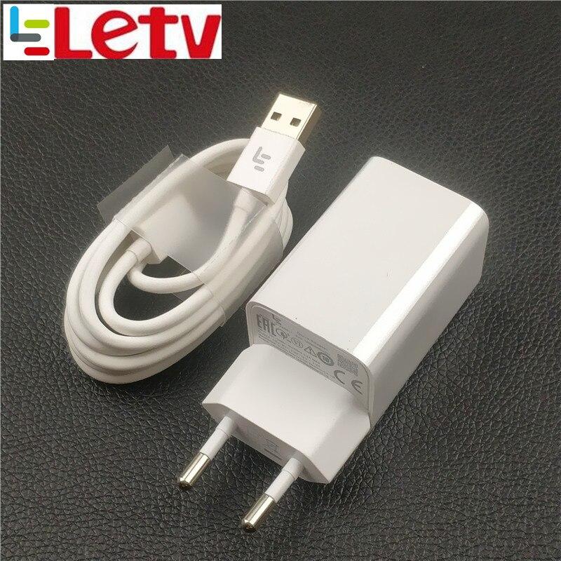 Оригинальный ЕС Letv <font><b>Leeco</b></font> Зарядное устройство le pro 3 адаптер питания qc 3,0 Быстрый быстрой зарядки устройства usb c кабель для le s3 x626 макс 3 Прохладны&#8230;