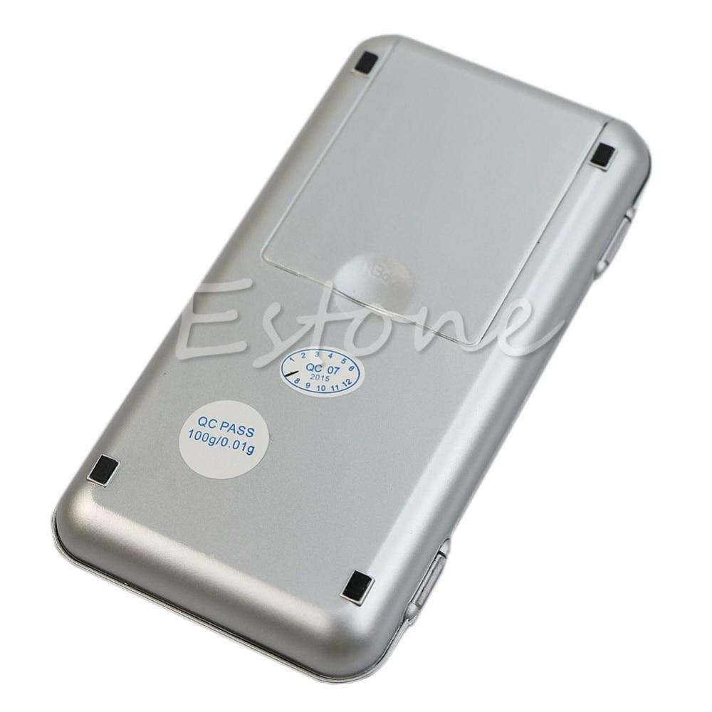 100 g x 0,1 g tikslumo skaitmeninės svertinės auksinės - Matavimo prietaisai - Nuotrauka 5