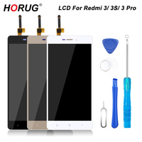 HORUG 100 AAAA Original LCD For Xiaomi Redmi 3S 3 Pro Screen Replacement Display Touch Redmi