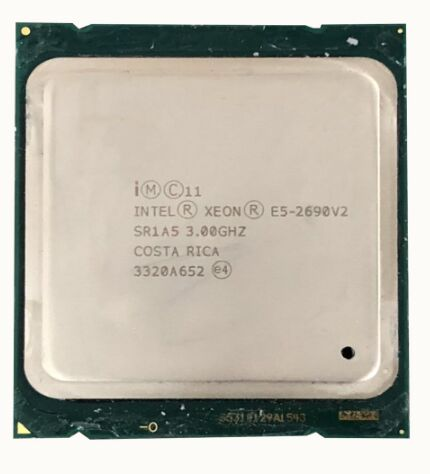 Intel E5-2690 v2 SR1A5 Processore 3.0 Ghz 10 Core 25 MB Socket LGA 2011 Xeon CPU E5 2690 V2