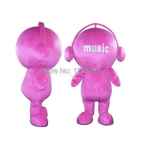 Mascotte rose musique poupée mascotte costume fantaisie personnalisé fantaisie costume cosplay thème mascotte carnaval costume kits