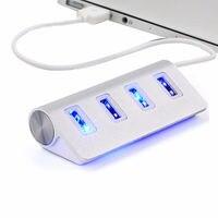 3.0 usb 허브 고속 4 포트 멀티 허브 분배기 확장 데스크탑 pc 노트북 어댑터|USB 허브|   -