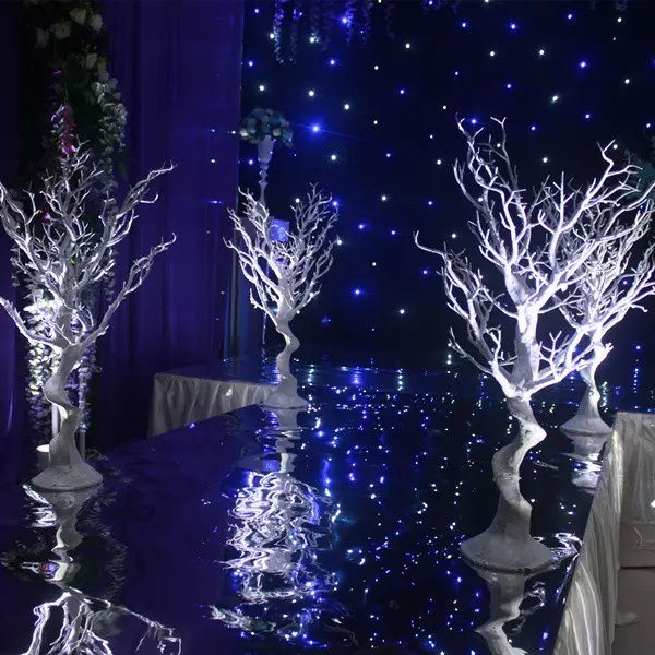 No Flowers Including White Plastic Tree Branches Tall Centerpieces For Wedding Table Decor In Glow Party Supplies From Home Garden On
