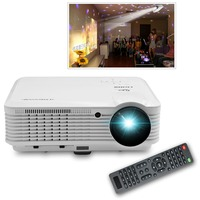 CAIWEI Portable LCD Projector Home Cinema Video Game Digital TV Proyector led projector 1080p