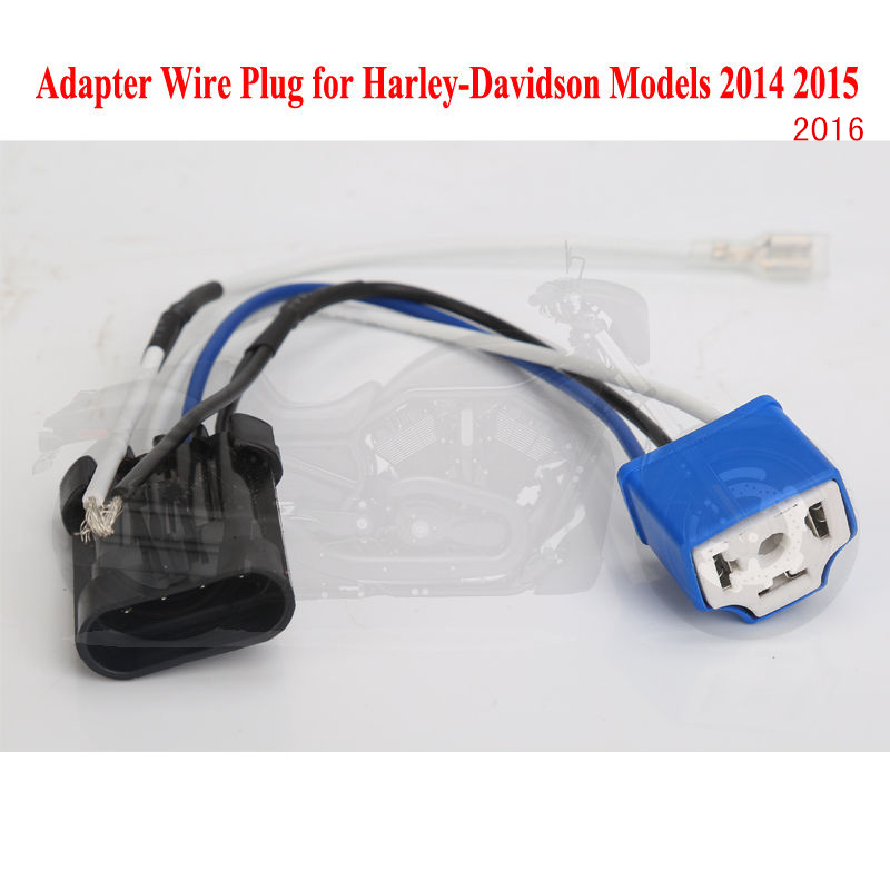 Harley Light Part 5 75 U0026quot  7 U0026quot Headlamp Wire Harness Adapter