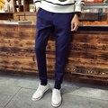 M-4XL 5XL Calças dos homens Novo Estilo de Moda Outono Calça Casual Hombre Pantalon Homme De Marque P198