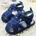 Newest Baby Shoes Summer Classic Blue Jean Baby Boys Girls Soft Bottom Shoes Toddler First Walkers Shoes