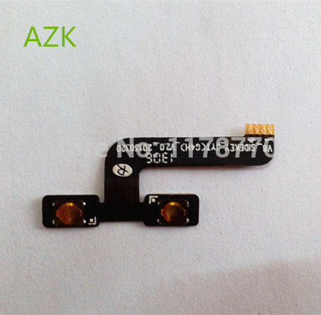 AZK New Volume Up/down Button Flex Cable FPC For Jiayu G4 G4S G4C Smart Cell Phone +tracking Number