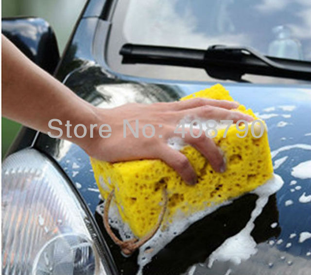 FREE SHIPPING Super resistant car washing sponge coral sponge does not hurt the surface