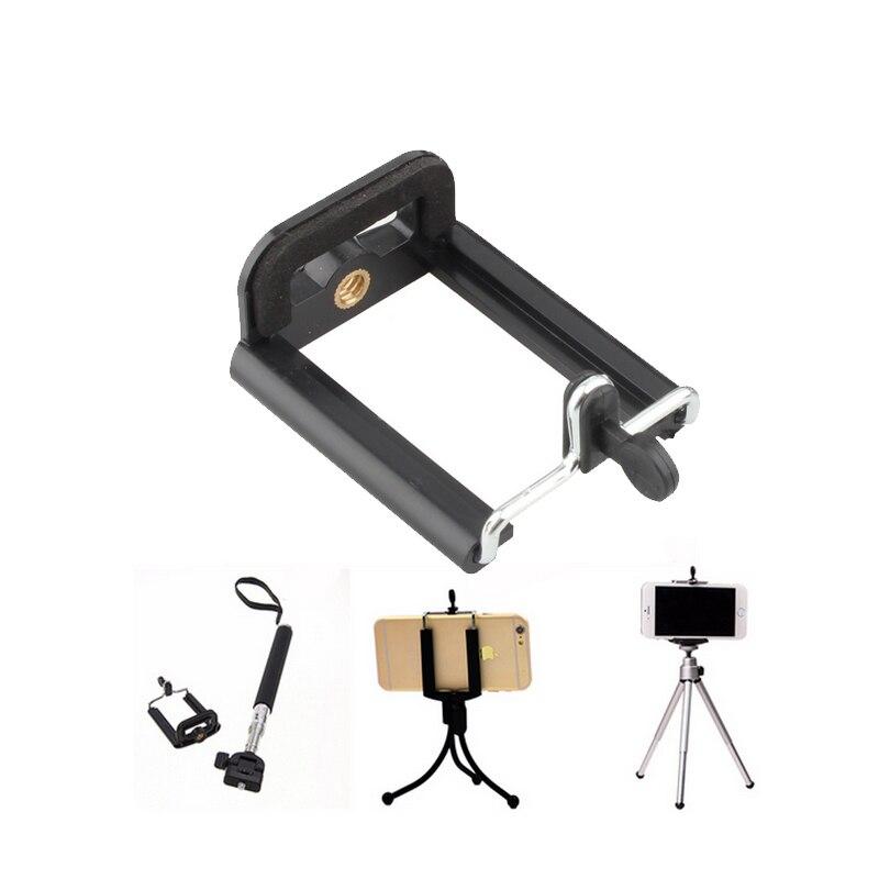 Камера стенд Штатив для мобильного телефона с зажимом кронштейн держатель монопод Штатив для смартфонов