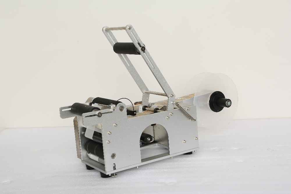 Image 3 - Labelling Machine Stick Label Sticker Semi Automatic Round Bottle Cans Cup Labeling Tool Labeler Device Packing Free Shipping-in Vacuum Food Sealers from Home Appliances