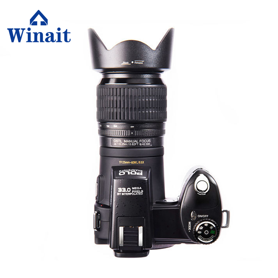 DC-7200 DSLR Digital video Camera Professional Good Selling Camera Dslr 2018 hd jozqa polo d7200 digital camera g6 tactical smartwatch